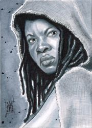 Michonne psc by idirt