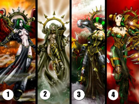 Chaos Lady pool by Axcido
