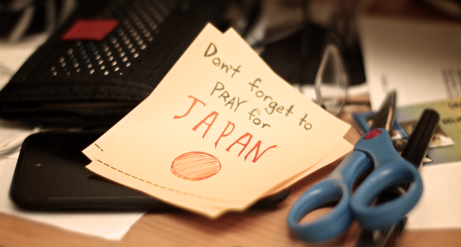 Don't Forget to Pray for JAPAN by Pixel-Sage