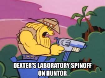 Dexter's Laboratory spinoff on Huntor  by Artmaster6778757