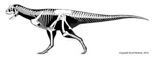 Carnotaurus is a mouth with legs by ScottHartman