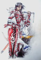 Dungeons and Dragons Character 2 by Rhafiel