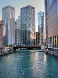 Chicago River II by gilraenia