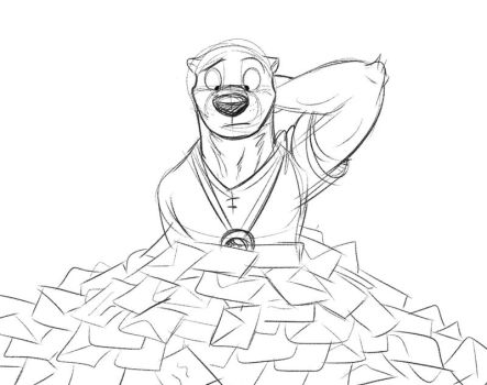 Piles of Messages by Temiree