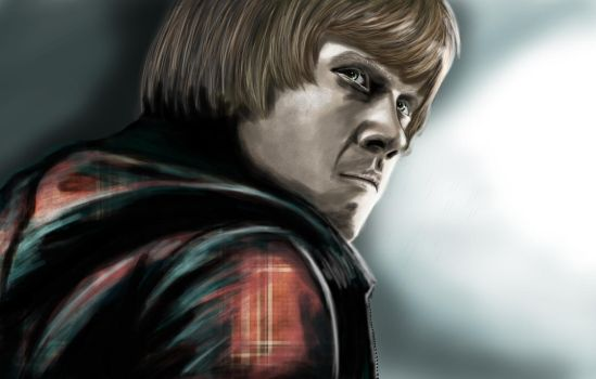 Ron weasley by greenseed666