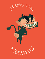 Good Krampus to You by paperbeatsscissors