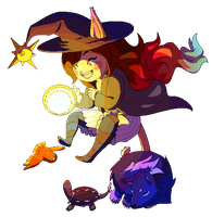 Witchsona Prax 2016 - animated! by Meibatsu