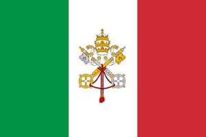 Combined flag of language: Italian by hosmich
