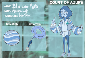 :Court Of Azure Application: Blue Lace Agate by HoshiNoDestiny