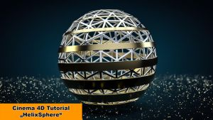 HelixSphere (Cinema 4D Tutorial) by NIKOMEDIA