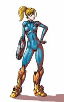 Samus Aran by Mercvtio