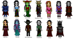 Some of my oc's by Link-of-the-twilight