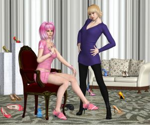 Are You SURE They Are The Ones Madam? by Roy3D