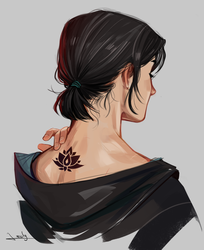 Black lotus by lesly-oh