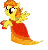 Spitfire Gala Dress by LottaPotatoSalad