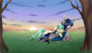 Straylight and Icy Breeze [Commission]+ Speedpaint by Scarlet-Spectrum