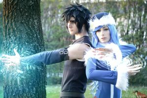 Cosplay Gray Fullbuster  Juvia Loksar magic games by Gray-Lykos