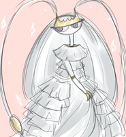 Pheromosa in a dress