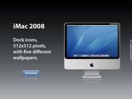 iMac 2008 for Dock by Walrick
