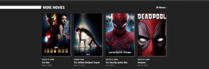 Red Marvel movies by JMK-Prime