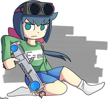 Constanze from Little Witch Academia by kemofoo