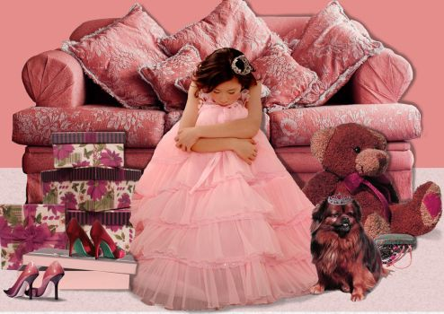 Pink world by nadinedavid