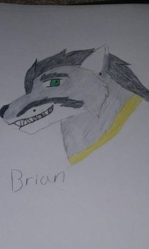 Brian .:Commission:. by 1Gin-Okami