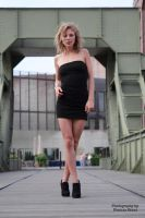 Anna in black dress without underwear 11 by PhotographyThomasKru