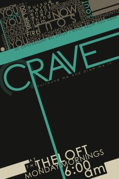 CRAVE Logo by shizzness