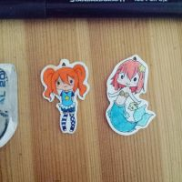 little Chibi Charms  by chocobeery