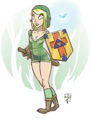 LadyLink by TheMyopicProphet