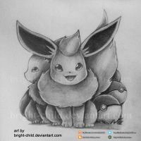 Bright Child - Pokemon Go Eeveelution by Bright-Child