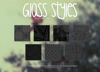 Glass Styles || Clari by RadiantDay