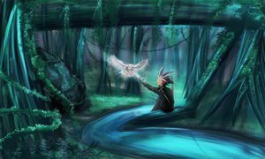 The Heart of The Forest by xSparxQueenx