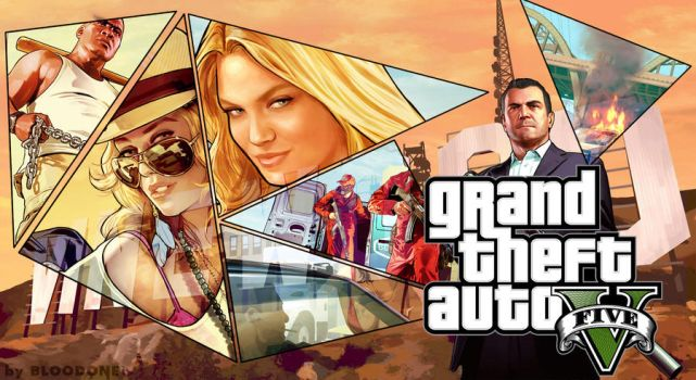 Grand Theft Auto V Wallpaper FanmadeHD 1980x1080 By ChiefBloodone On DeviantArt