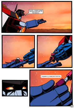 Transformers: Bloodline PAGE 27 by KingRebecca