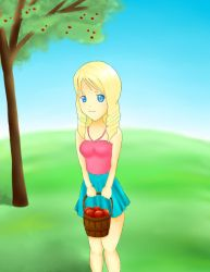 Apple Picking by TechnophileForever