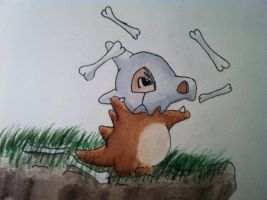 Cubone by Randomous
