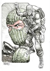 Beachhead, private commission by StazJohnson