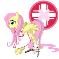 Fluttershy - Ministry of Peace by tomcullen