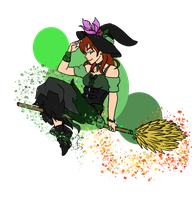 Day 1: The Emerald Witch by iCheddar