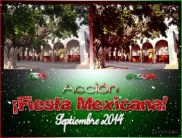 Fiesta Mexicana: Action + 2 PSD by LexiVonEerie