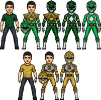 Andrew DeSoto in MMPR by SpiderTrekfan616