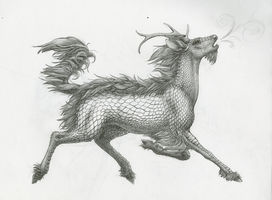 Kirin PENCIL by TheIncredibleHibby