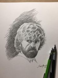 Tyrion Lannister sketch by amonkeyonacid
