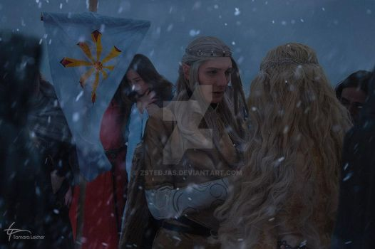 The frost grows stronger but we have to go by zstedjas