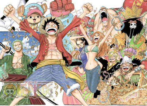 One Piece creditless by OneManDraw