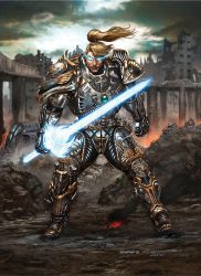 Rifts Cyber Knight Preview by ChuckWalton