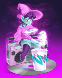 Vaporwitch by MagicalZombie