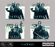 The Matrix 4K Collection Folder Icon Pack by Bl4CKSL4YER